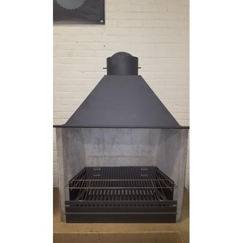 Barbecue set (Frame en rvs grille) Type 55cm.