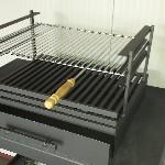 Maatwerk bbq-grille stookrooster aslade