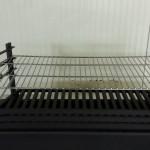 Modern stookrooster-aslade rvs barbeque grille