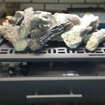 Gasblok met houtblokken Type 65 HEBO Handbediend